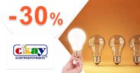 Extra zľava -30% na žiarovky Osram na Okay.sk