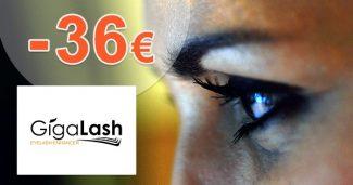 Extra zľava -36€ pri kúpe 3 balení na GigaLash.sk