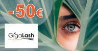 Extra zľava -50€ pri kúpe 4 balení na GigaLash.sk