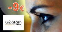 Extra zľava -9€ k nákupu 1 balenia na GigaLash.sk