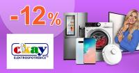 Extra zľava až -12% na elektro a nábytok na Okay.sk