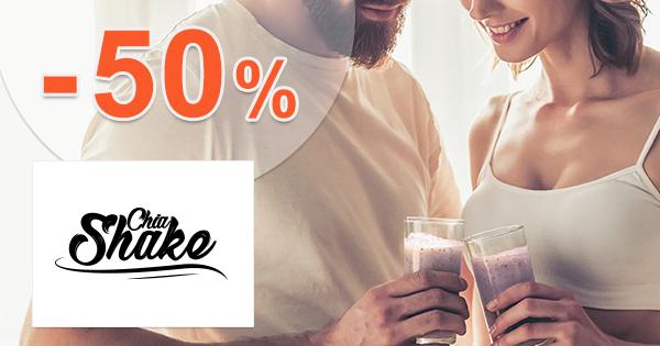 Zdravé jedlá a balíčky až -50% na ChiaShake.sk