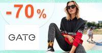 Flash Sale -70% zľava NA VŠETKO na GATE.shop