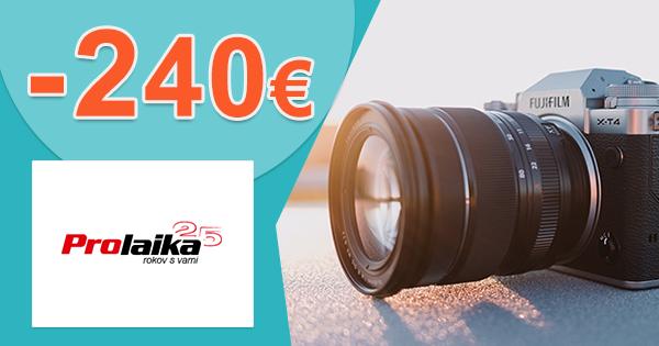 Foto a video technika až -240€ zľavy na ProLaika.sk