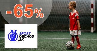Výpredaj loptových športov až -65% na SportObchod