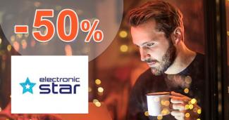 Výpredaj plný zliav až -50% na Electronic-Star.sk