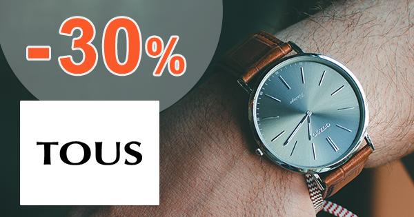 Hodinky v akcii až -30% zľavy na Tous.sk