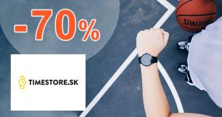 Hodinky vo výpredaji až -70% zľavy na TimeStore.sk