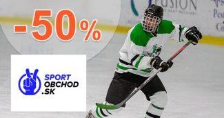 Výpredaj pre voľný čas až -50% na SportObchod.sk