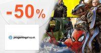 Hráčska výbava až do -50% na ProGamingShop.sk