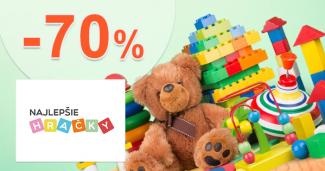 Hračky v akcii až -70% na NajlepsieHracky.sk