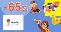 Hračky v akcii so zľavami až do -65% na Venda.sk