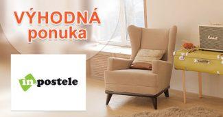 Výpredaj nábytku nabitý zľavami na inPostele.sk