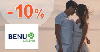 Zľava -10% na všetko MedPharma na BenuLekaren