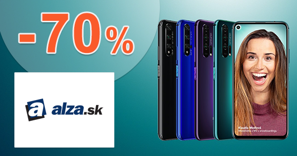 Akcie na smartfóny až -70% zľavy na Alza.sk