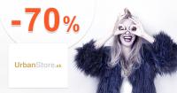Akcie na módne doplnky až -70% na UrbanStore.sk