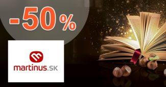 Jarné čítanie so zľavami až do -50% na Martinus.sk