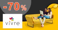 Jarný výpredaj až do -70% zľavy na VivreHome.sk