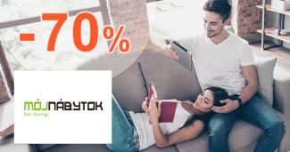 Výpredaj nábytku skladom až -70% na MojNabytok