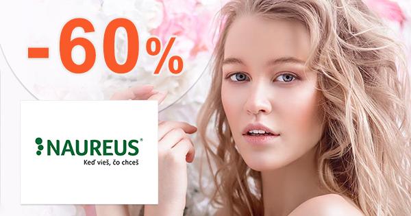 BIO a prírodné produkty až do -60% na Naureus.sk