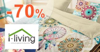 Jesenný výpredaj až -70% na I-Living.sk