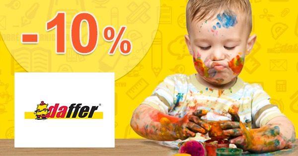 Karta výhod so zľavou -10% na všetko na Daffer.sk