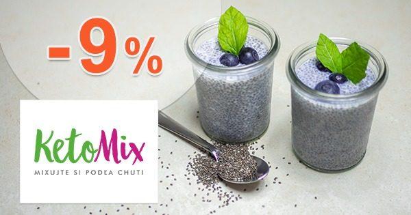 Ketónová diéta na 2 týždne -9% zľava na KetoMix.sk