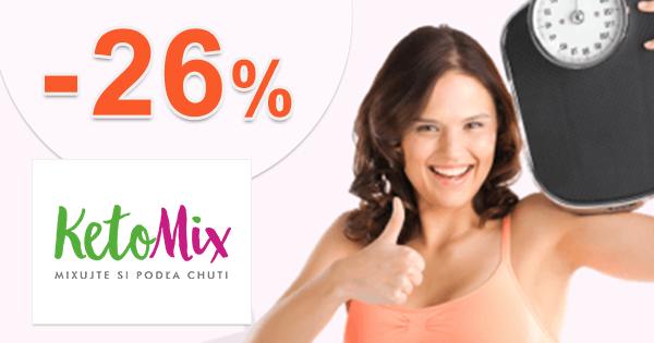 Ketónová diéta na 7 dní -26% zľava na KetoMix.sk