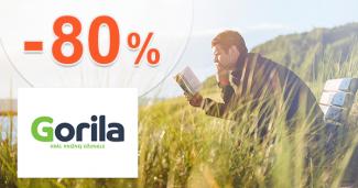 Knižné dobrodružstvo až -80% zľavy na Gorila.sk