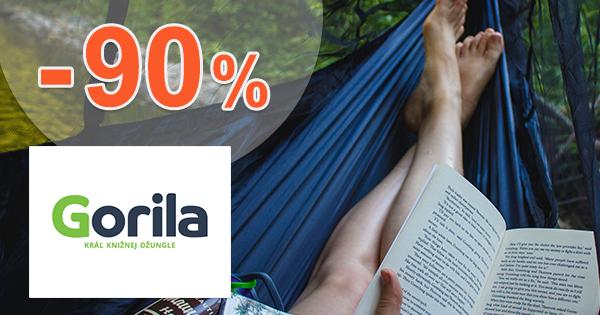 Gorilácke knižné prekvapčo až do -90% na Gorila.sk
