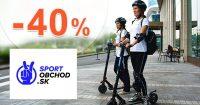 Kolobežky vo výpredaji do -40% na SportObchod.sk