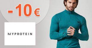 Kredit -10€ ako zľava k nákupu na MyProtein.sk