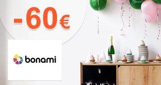 Kredit 60€ ako darček k registrácii na Bonami.sk