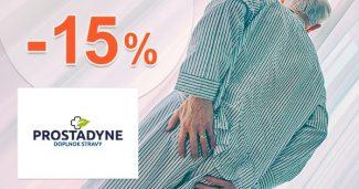 Kupón -15% zľava na ďalší nákup na Prostadyne.sk