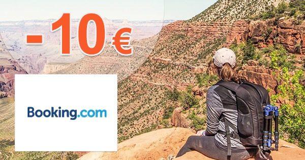 Extra zľava -10€ na ubytovanie na Booking.com