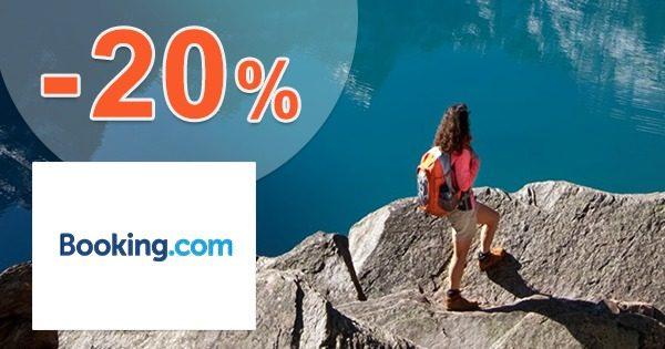 Extra zľava -20% na ubytovanie na Booking.com