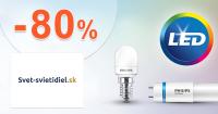 LED žiarovky v akcii až -80% na Svet-svietidiel.sk