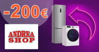 LG akcia s cashbackom až 200€ na AndreaShop.sk