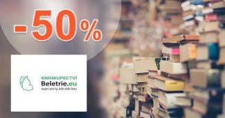 Lacné knihy v akcii až do -50% zľavy na Beletrie.eu