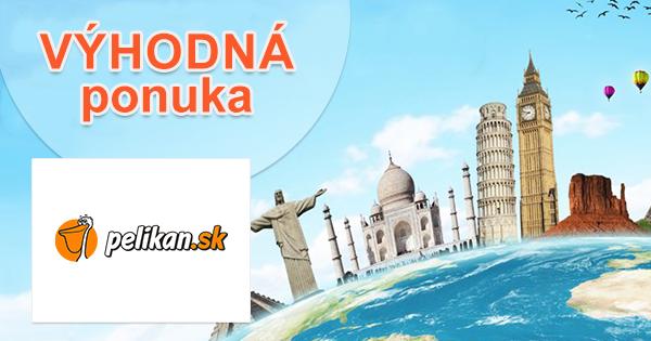Spoznajte svet s multicity letmi od 98€ na Pelikan.sk