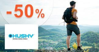 Letná ponuka zliav od -30% do -50% na Huskysk.sk