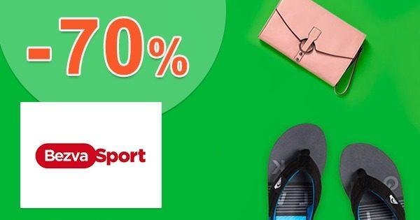 Akciový sortiment až -70% zľavy na BezvaSport.sk