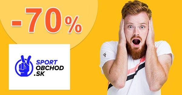 Tenisový výpredaj až do -70% na SportObchod.sk