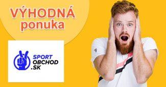 Letné zľavy a akcie až do -70% na SportObchod.sk