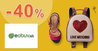 Letný výpredaj až -40% zľavy na eObuv.sk