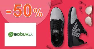 Letný výpredaj až -50% zľavy na eObuv.sk