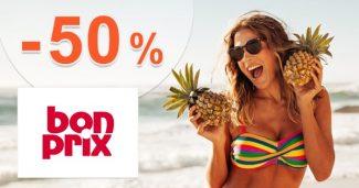 Letný výpredaj so zľavami až do -50% na BonPrix.sk