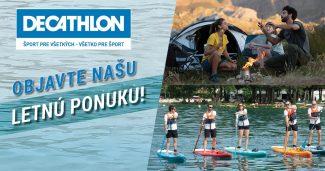Letná ponuka na Decathlon.sk