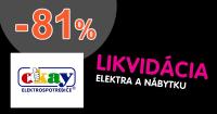 Likvidácia skladov so zľavami až -81% na Okay.sk