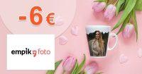 Limitovaná zľava -6€ na fotoknihy na EmpikFoto.sk